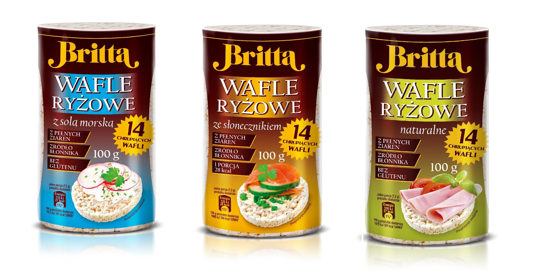 nowość britta wafle ryżowe