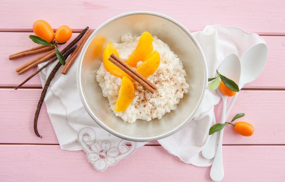 Ryż jaśminowy z brzoskwiniami